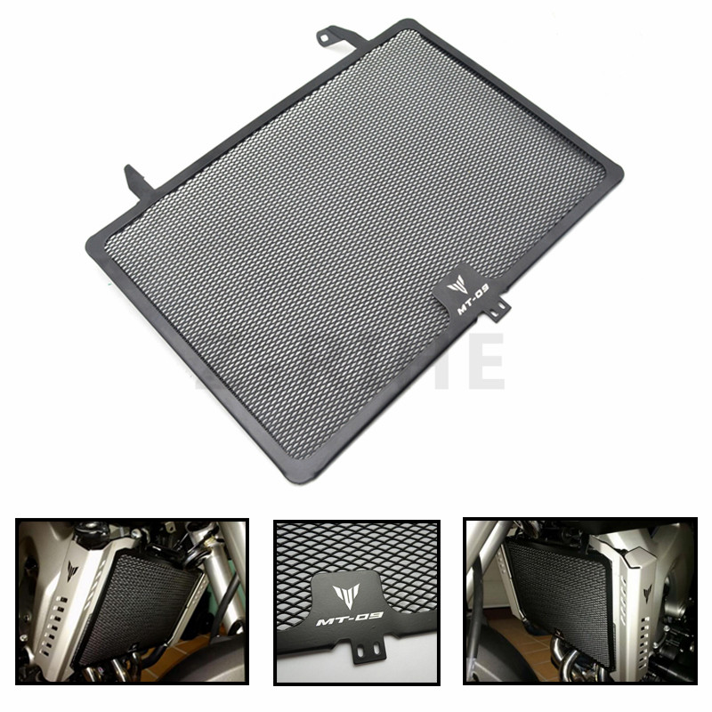 for Motorcycle Aluminum Radiator Guard Grill For Yamaha MT09 FZ09 2013 2014 2015 2016 XSR900 2016 2017 MT 09 FZ FJ09 13 14 15 motorcycle radiator protective cover grill guard grille protector for kawasaki z1000sx ninja 1000 2011 2012 2013 2014 2015 2016