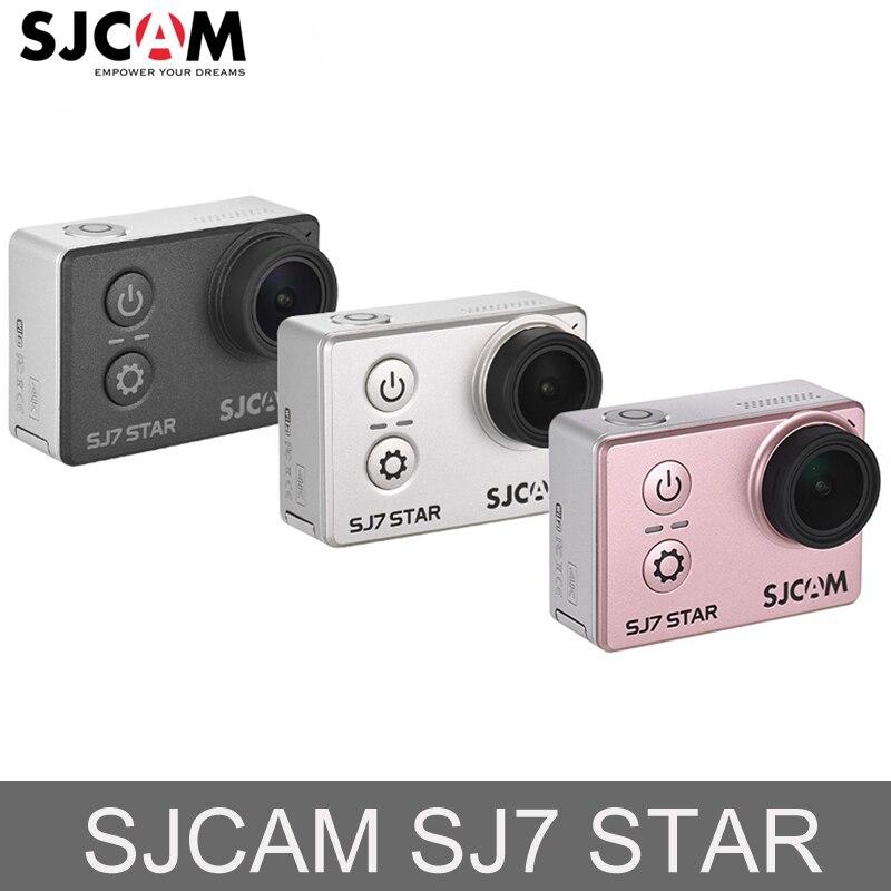 Original SJCAM SJ7 Star Ultra HD 4 K WiFi acción de la cámara de vídeo Ambarella A12S75 30 M impermeable deporte acción Cámara coche Mini DVR