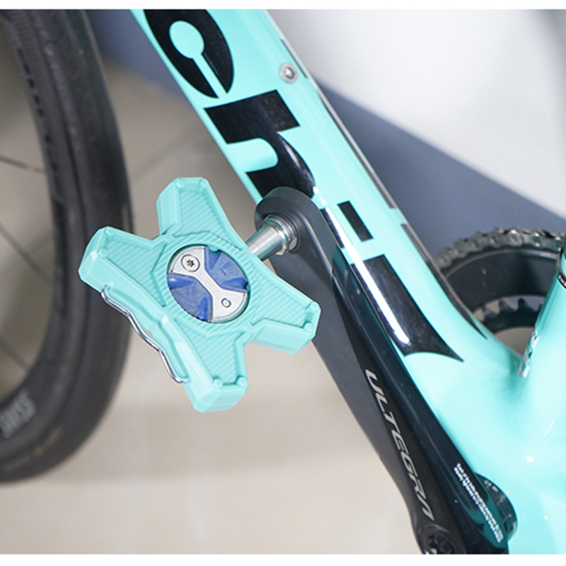 RICHY Bike  Bicycle Lock Pedal Alloy Buffer Of Plate Adapter Convert For Look Series Road Pedals
