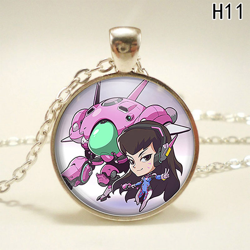 2018 Fashion Cartoon Games Pocket Pendant Necklace Girl Womens Gift