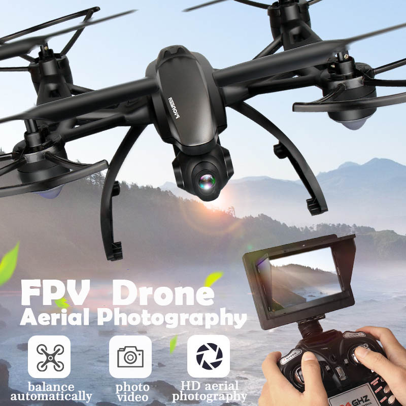 ФОТО Real-time FPV Remote Control Helicopter 100m Control Distance UFO RC Drones 2.4G 4CH 6 Axis Gyro Hover Quadcopter 509