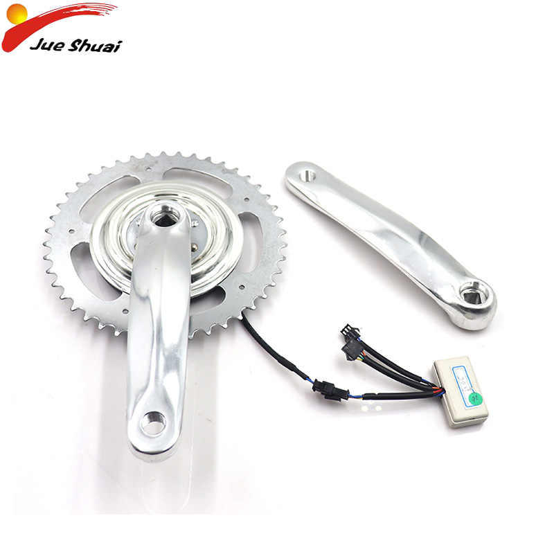 JS Bicycle Carbon Crankset  Aluminum Alloy Narrow Wide chainring Chain Care Crank Road MTB Crank Bike Accessories Bicycle parts