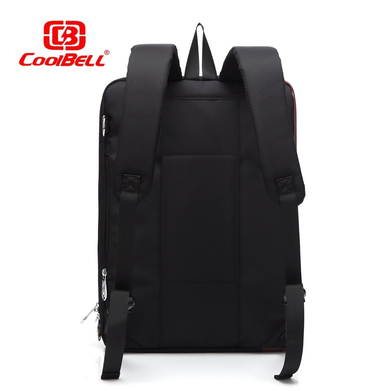 Cool Bell New Fashion Casual Laptop Bag Business Package 17 Inch Computer Bag Backpack Single Shoulder Bag Handbag Free Shipping