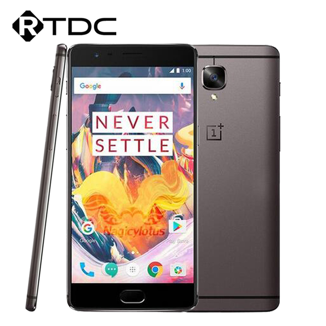 "Original Oneplus 3T A3010 4G LTE Mobile Phone Android 6.0 Quad Core Snapdragon 821 6GB RAM 64GB ROM 5.5""FHD 16.0MP 3400mAh NFC"