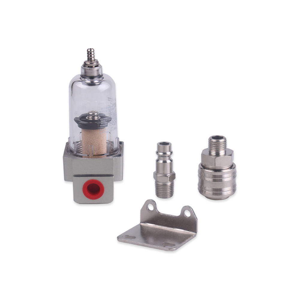 "Compressed Air Filter Water Separator Oil Separator Quick Coupling 1/4 ""|Oil Water Separators| |  - title="