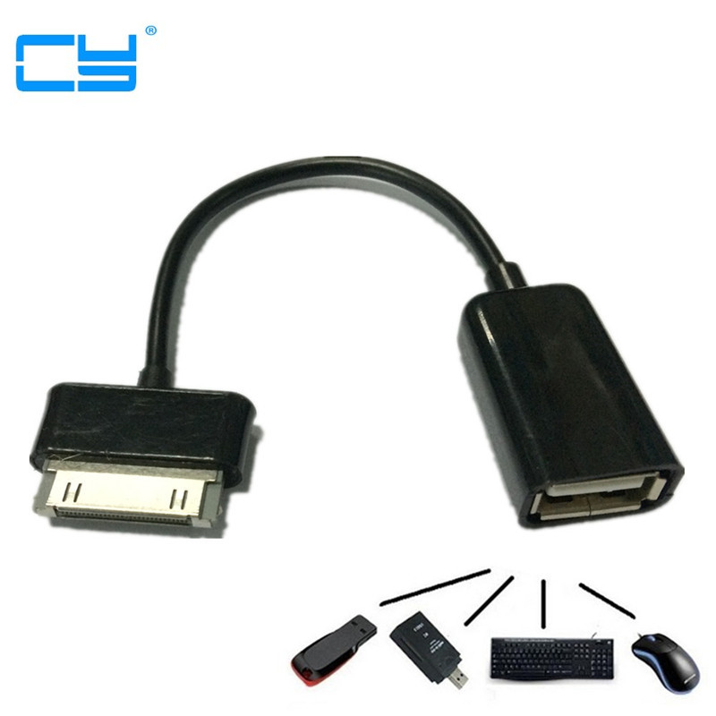 USB OTG Cable sync data Adapter For Samsung Galaxy Note 10.1 GT- N8000 N8010 N8020 Tab 2 7 P3100 P3110 Tab2 P5110 P5100 P7300 планшет samsung galaxy note 10 1 16gb gt n8000 black