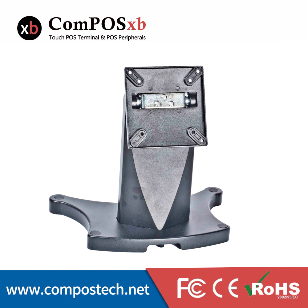 China touch monitor stand bufferfly base cool appearance pos stand DZ01A