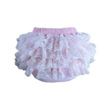 20pcs/lot  New Fashion Pettiskirt Pants Baby Girls Lace Ruffles Bloomer Ruffle Shorts