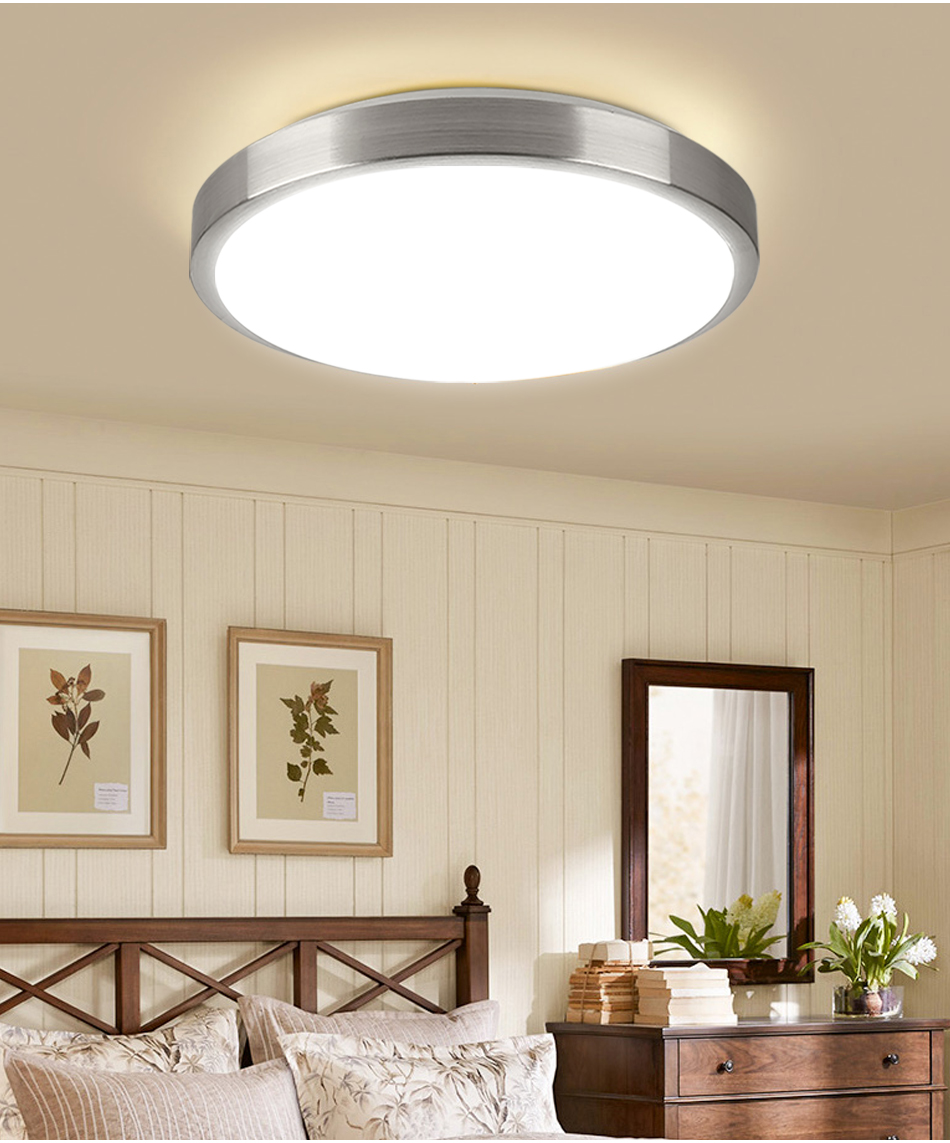 HTB1emKPaPnuK1RkSmFPq6AuzFXaO Modern LED Ceiling Light Lighting Fixture Lamp Surface Mount Living Room Bedroom Bathroom Remote Control Home Decoration Kitchen