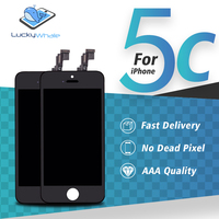 Black Ecran Without Dead Pixels Spots LCD Screen Replacement For Apple IPhone 5C LCD Display Touch