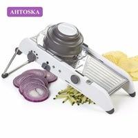 AHTOSKA Multi-Functional Manual Vegetable Slicer Shredder Potato Cutter Carrot Slicer Fruit Vegetable Tools