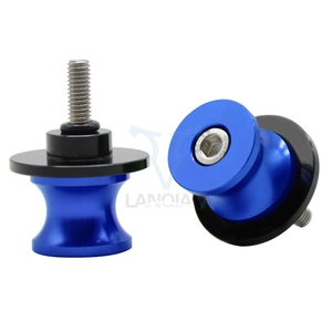 Image 2 - For Motorcycle Accessories CNC Aluminum Black Swingarm Spools slider stand screws For APRILIA RS 125 SHIVER 750 GT RS250 FALCO/S