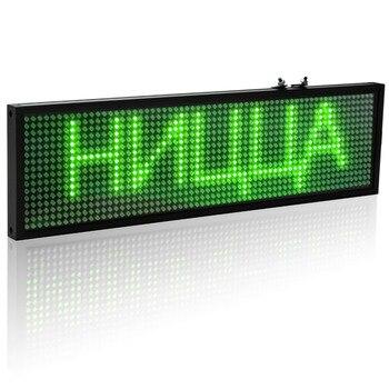 34 Cm Wifi LED Mesaj Panosu Yeşil LED Burcu Programlanabilir Kaydırma Için Iş Ev Dekorasyon Kahve Dükkanı Bar Işareti Aydınlatma