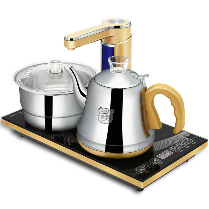 Electric kettle automatic upper electric tea set stainless steel Anti-dry Protection Overheat Protection automatic upper water electric kettle pump 304 stainless steel tea set