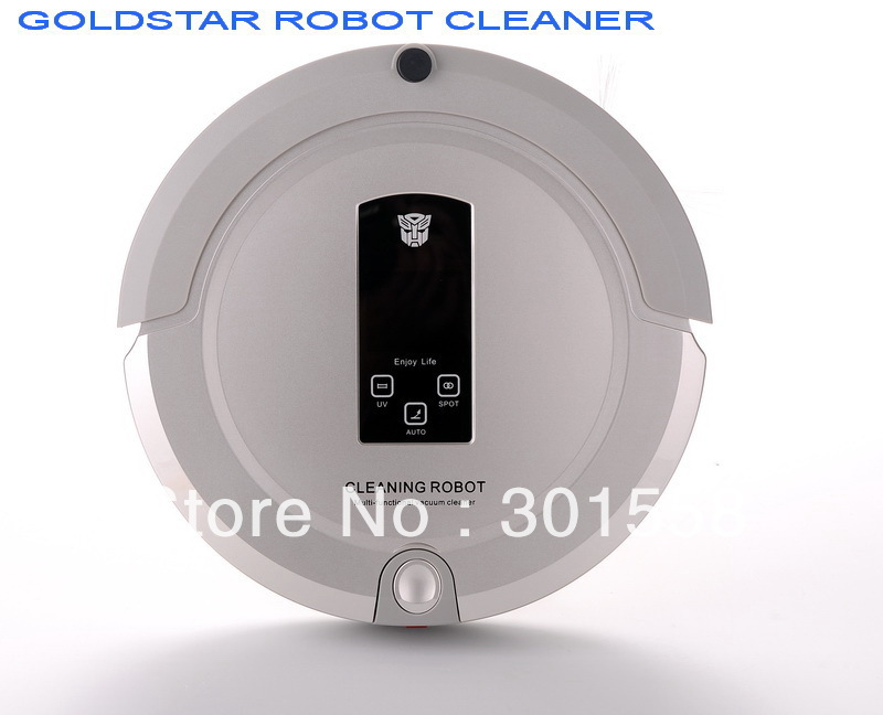 (UK free shipping) 4In1 Robot Vacuum Cleaner Sweep,Vacuum,Mop,Sterilize,Touch Screen,Schedule,2-Way Virtual Wall,AutoCharge