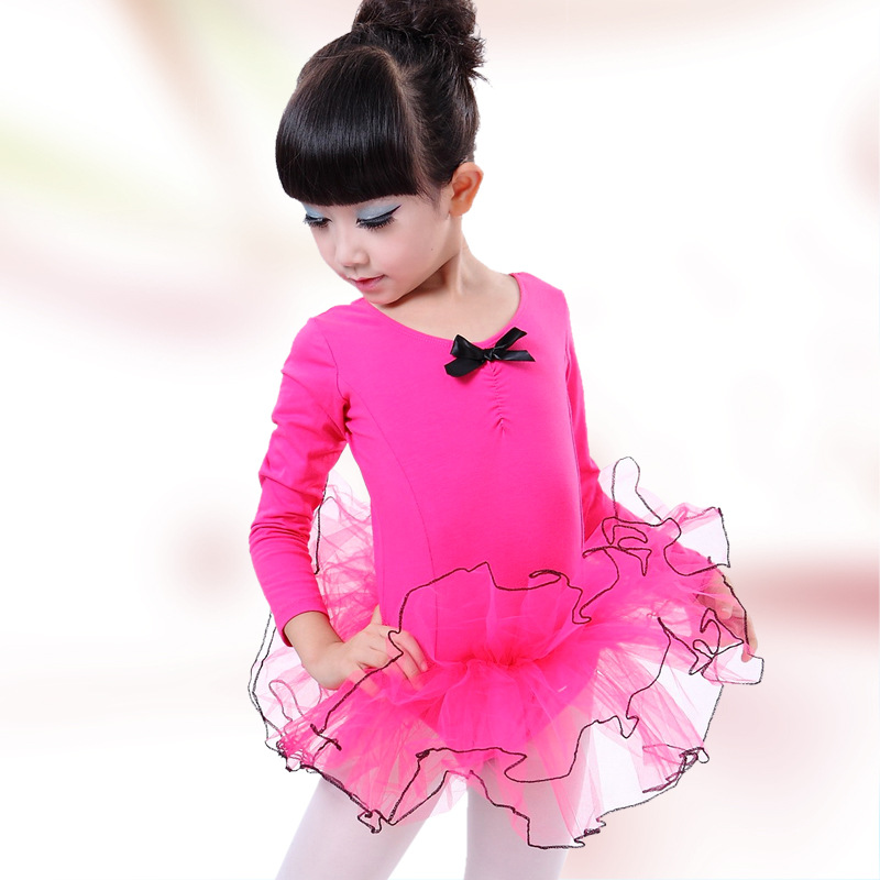 Fashion Girls Ballet Dress Children Shapewear Dance Clothing Kids Ballet Dresses Dance Leotard Girl Dancewear Kids Gymnastics kids dresses for girls girl dress free shipping2010 fashion dance dress performance wear leotard 085 hair accessory oversleeps