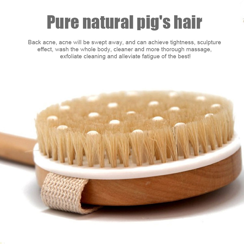 Economical 1pc Body Shower Brush Exfoliator Brush With Massage