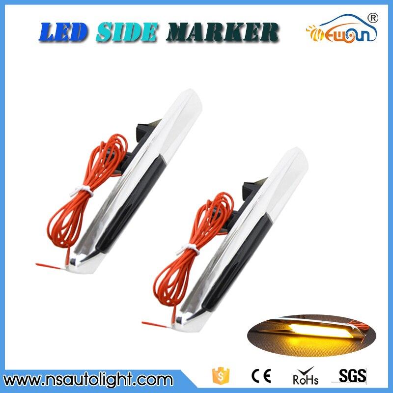 F10 style LED Amber Inidicator Light For BMW E81 E82 E87 E88  E90 E91 E92 E93 E94 Auto Parts LED Side Marker silver chrome мебель импэкс модель 81 vegas light amber 2