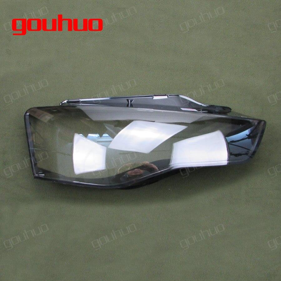 1шт фары абажур прозрачная крышка фары оболочки абажур стекло для Ауди А5 12-16