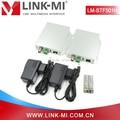 LINK-MI LM-STF501H 60km Audio Video SD/HD/3G SDI Fiber Optic Extender With Opposite RS485 Data (Boradcast Version)