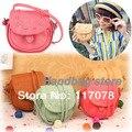 Корея Девушки Ручной Мюзет Барабан кожаная сумка Pattern Малый сумка Сумочка 5057