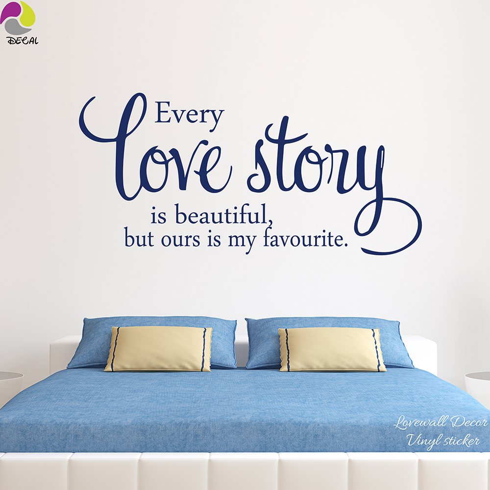 popular love quotes family buy cheap love quotes family lots from every love story is beautiful but ours is my favourite wall sticker family love quote wall
