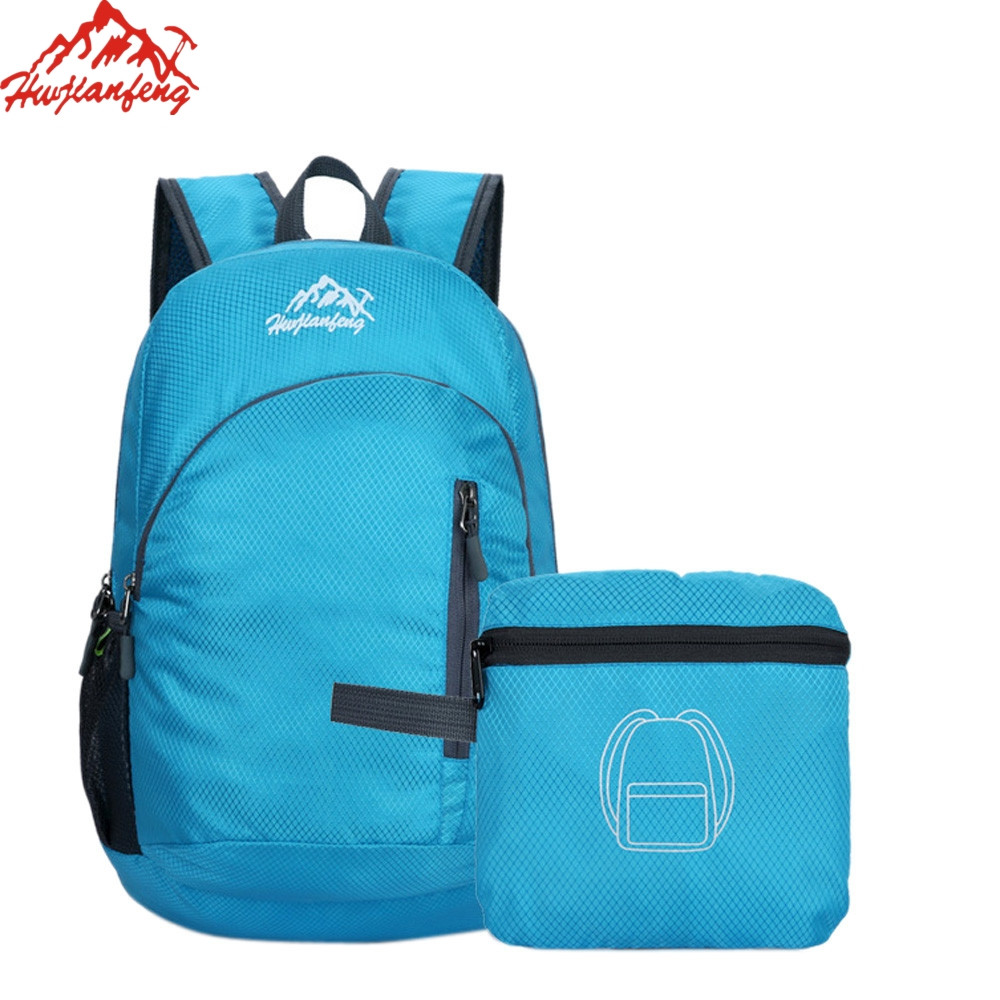 Running Bags 5colors Durable Waterproof Folding Packable Lightweight Travel Hiking Backpack Daypack Travel Adjustable Bags Outdoor Sport Dec5 A Plastic Case Is Compartmentalized For Safe Storage