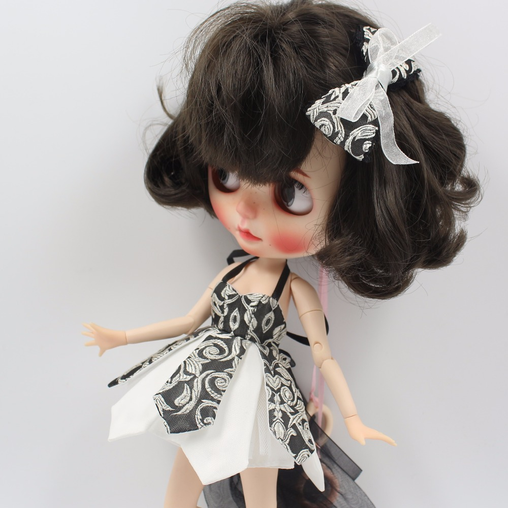 Neo Blythe Doll Beautiful Dress With Bow 6