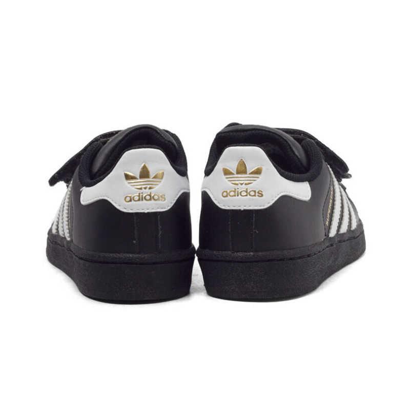 ADIDAS SUPERSTAR oryginalne dziecięce buty lekkie buty na deskorolkę oddychające dziecięce sportowe trampki # B26070 B26071