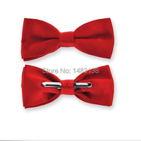 Free Shipping Tie Bow Clips Silver Bow Tie Hardware Bow Tie Clasp 20pcs Lot