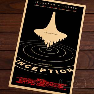 Retro Poster Sticker Decorative Science-Fiction Action Painting Wall Canvas Vintage Gift