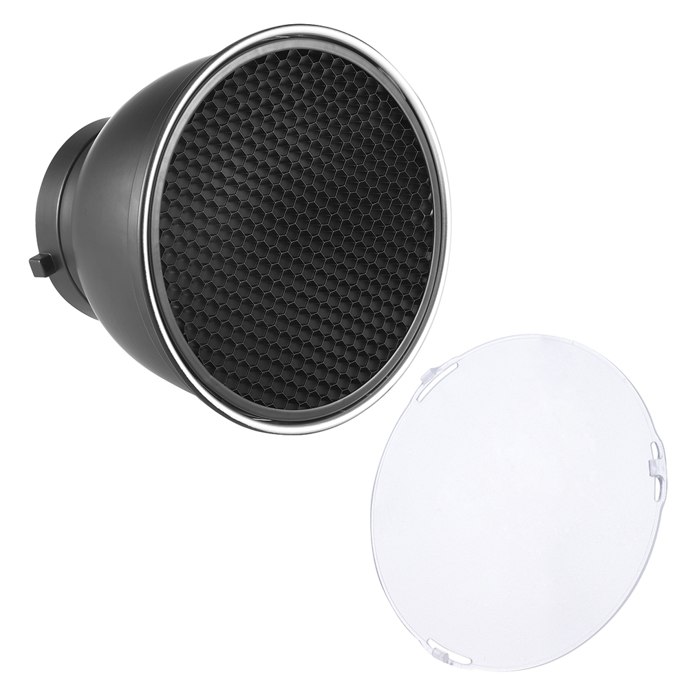 Haoge 7 Standard Reflector Diffuser Lamp Shade Dish For: Online Get Cheap Reflector Diffuser Kit -Aliexpress.com
