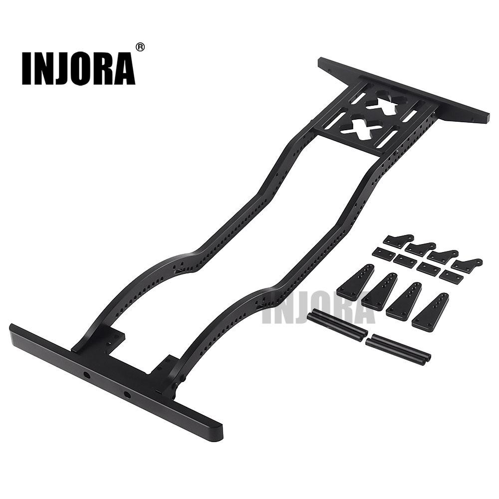 INJORA Metal Girder Frame Chassis For 1/10 RC Crawler Axial SCX10 D90 RC Car DIY Parts