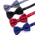 Solid Mens Bow Tie Male Fashion Cravate Butterfly Classic Bow Tie For Men Pajaritas Hombre Gravata Borboleta Adjustable Bowtie