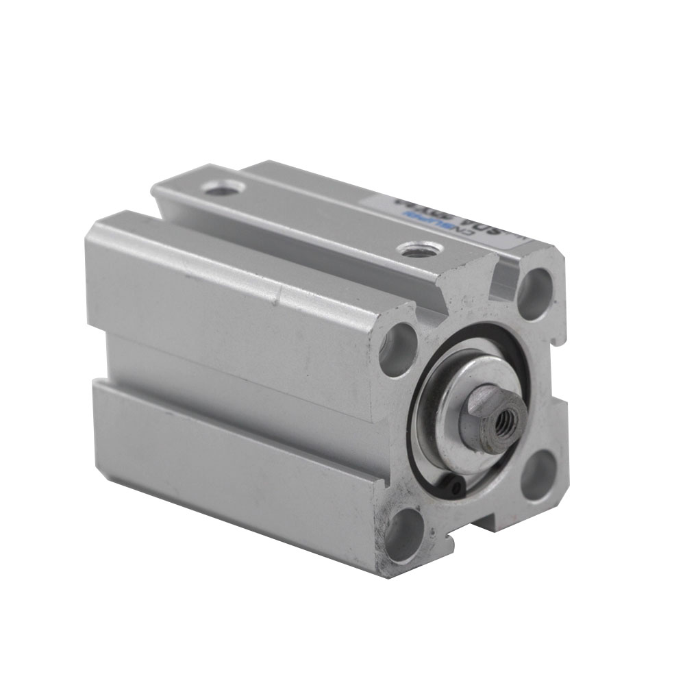 Aluminum Alloy SDA Type Compact Thin 20mm Bore 5/10/15/20/25/30/40/50mm Double Action Pneumatic Air Cylinder free shipping 50mm bore 25mm stroke pneumatic compact cylinder double action sda 50 25 aluminum alloy thin type air cylinders