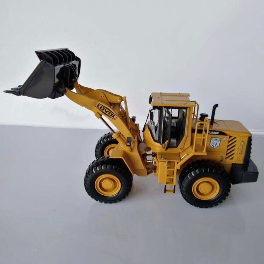 Collectible Alloy Model Toy Gift 1:35 Scale Foton FL956F Wheel Loader Engineering Machinery Vehicle DieCast Toy Model DecorationCollectible Alloy Model Toy Gift 1:35 Scale Foton FL956F Wheel Loader Engineering Machinery Vehicle DieCast Toy Model Decoration