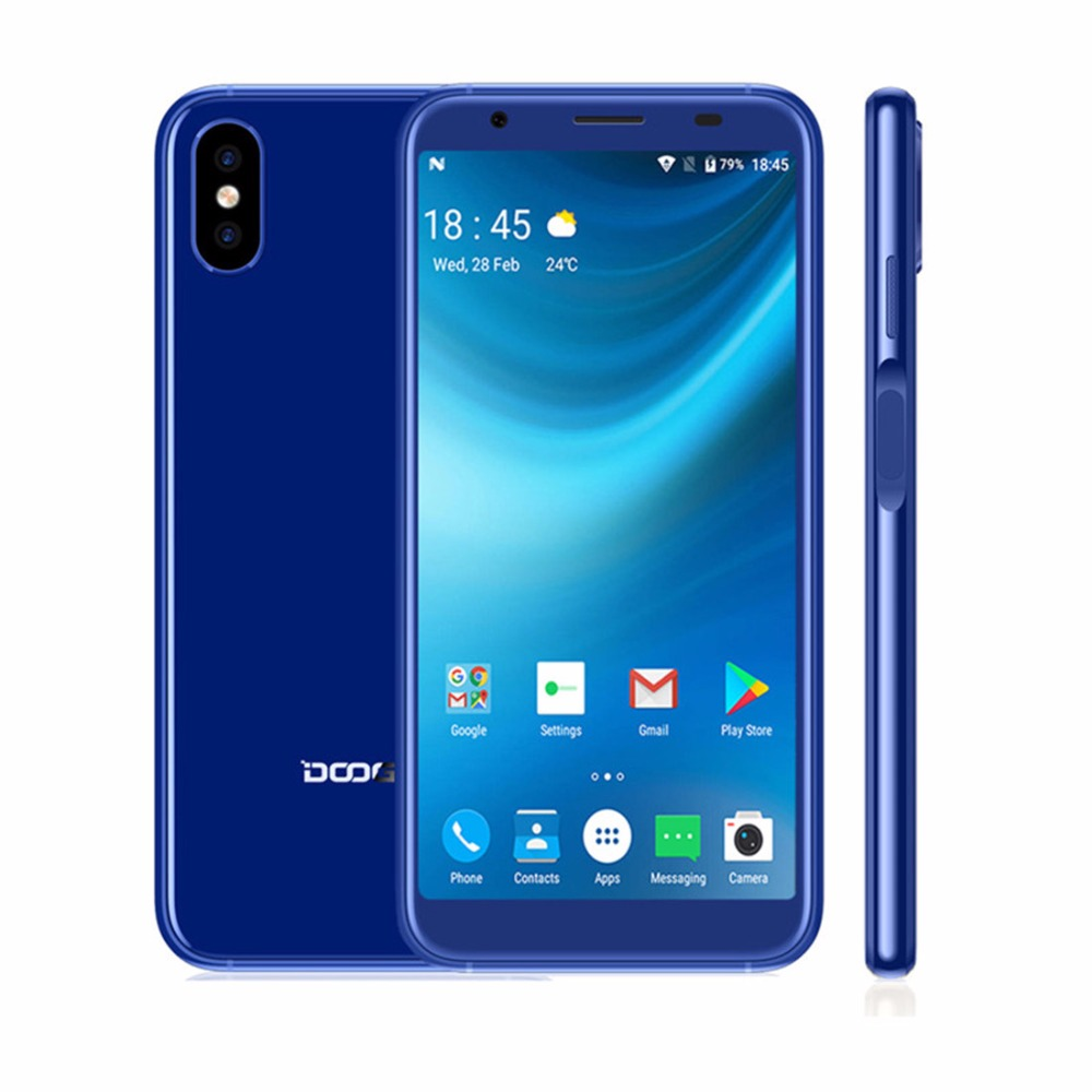 DOOGEE-X55-Android-7-1-5-5-Inch-18-9-HD-MTK6580-Quad-Core-1