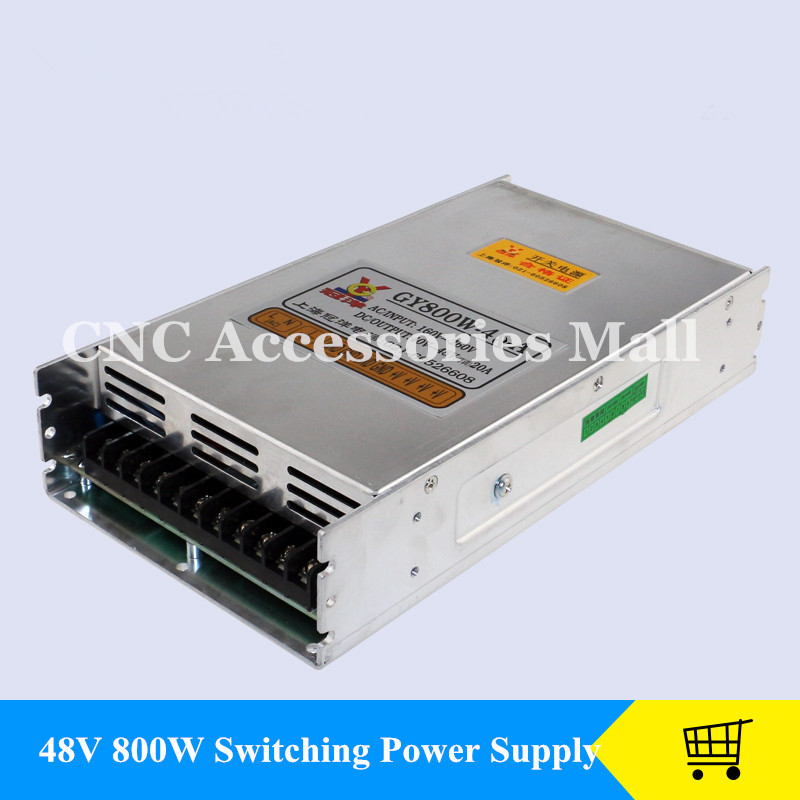 CNC Router Switching Power Supply 800W 48V 16A DC industrial power for CNC engraving machine engraving machine power engraving machine 48v power supply 800w power engraving machine switching power supply engraving machine