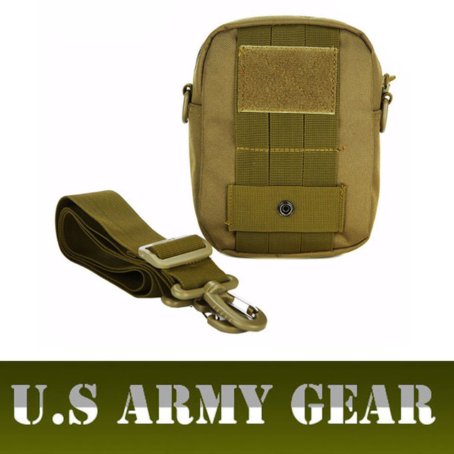 Military Man Waist Bag Multi-function Casual EDC Molle Pouch Tool Waist Pack Accessory Bags Fanny Pack Belt Bag Men Pochete