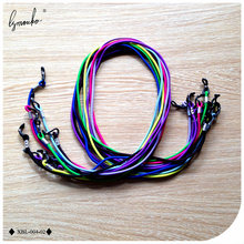 Lymouko 10 stks/partij Hot Selling Multicolor Elastische Sport Bril String Cord Zonnebril voor Tavel Antislip Lanyard Hals Touw Strap(China)