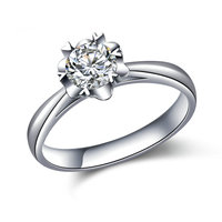 18K Gold Diamond Ring For Women K Gold Natural Diamond Jewelry Wedding And Engagement Jewellery For