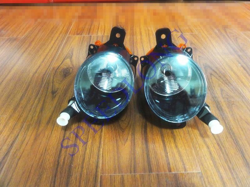 2 Pcs / Pair RH dan LH bumper depan mengemudi lampu Fog Lamp untuk - Lampu mobil - Foto 3