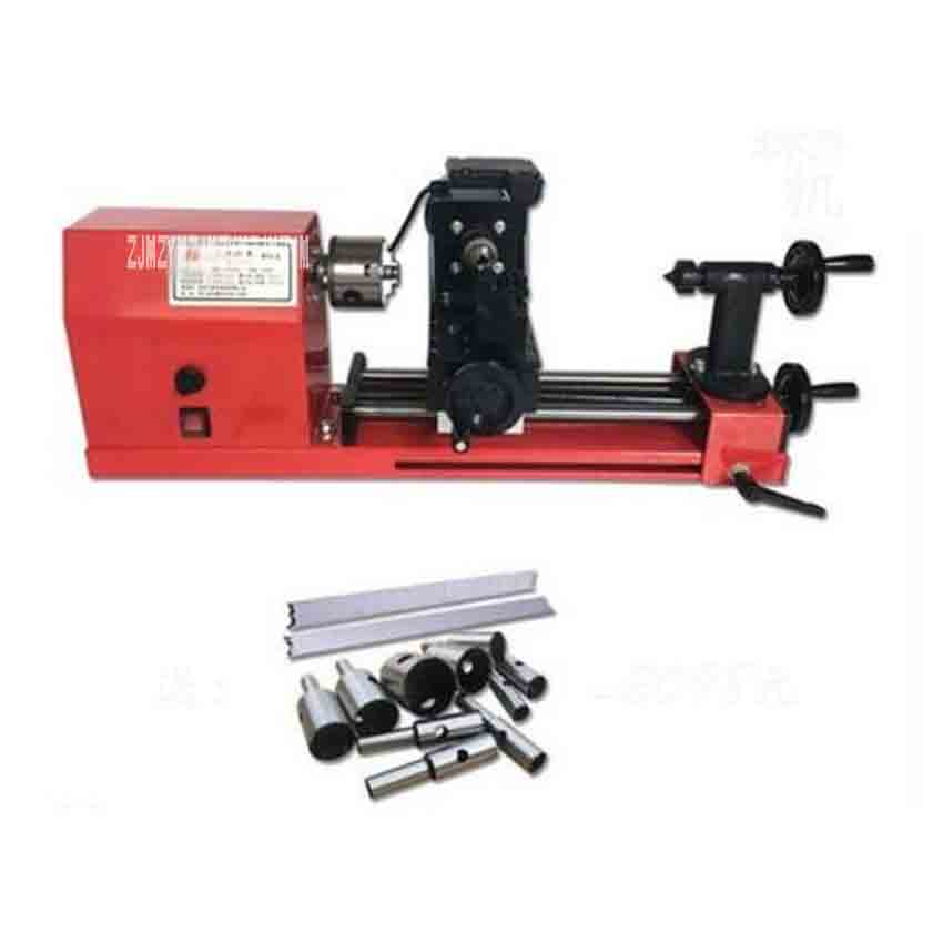 New Arrival Small M,ultifunctional Woodworking Lathe 6030 Miniature Lathe Machine Processing Beads Machine 0-2000r/min 220V 900W