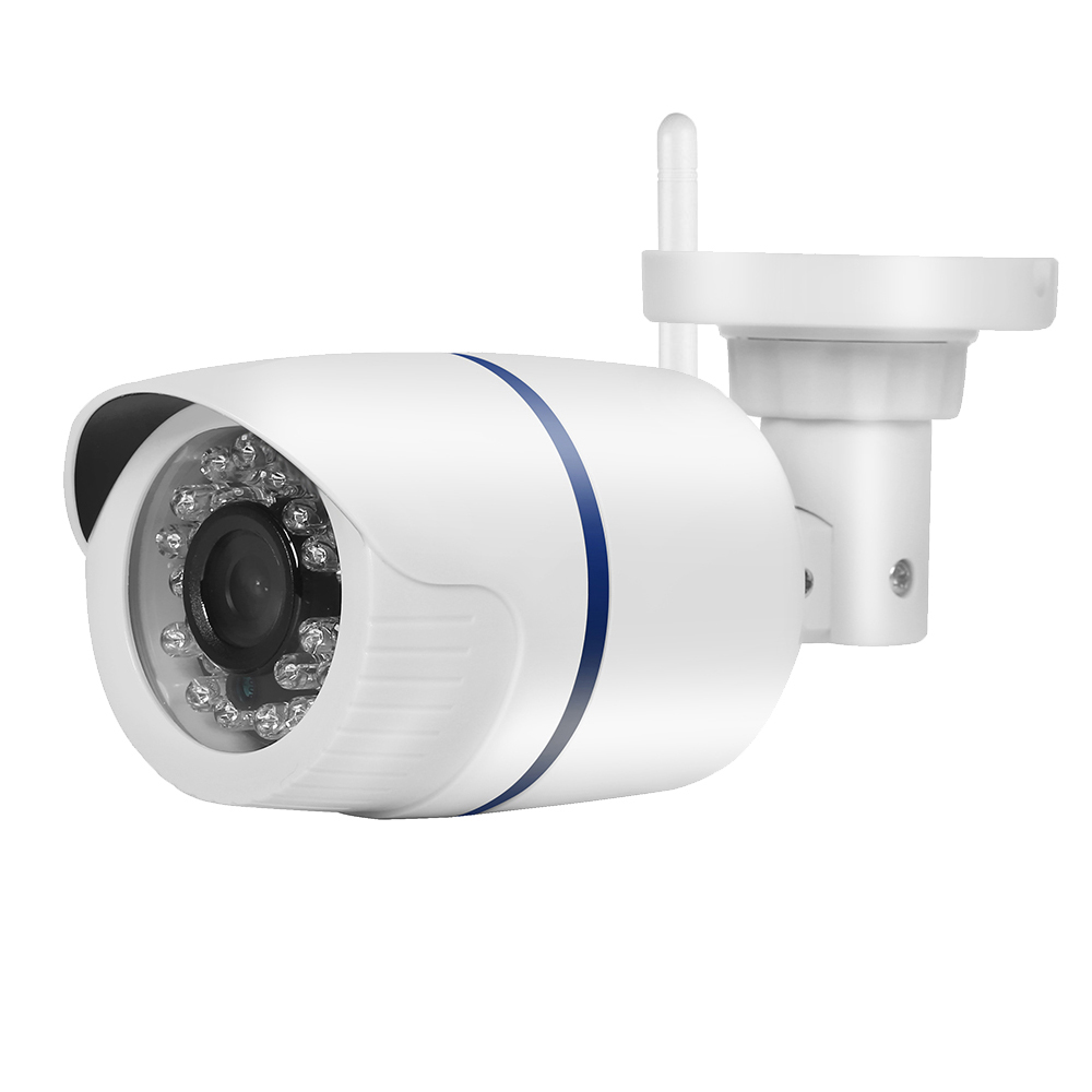 720P/960P Optional 802.11 b/g/n Wireless Wired IP Camera With External Pickup Wifi Camera Support IE Could