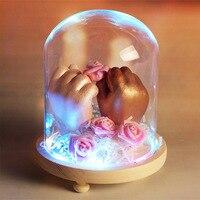 3D рук и ног принтом отпечаток руки ребенка форма в виде отпечатка ноги для детской присыпки гипсовая отливка комплект подарок на память рос...