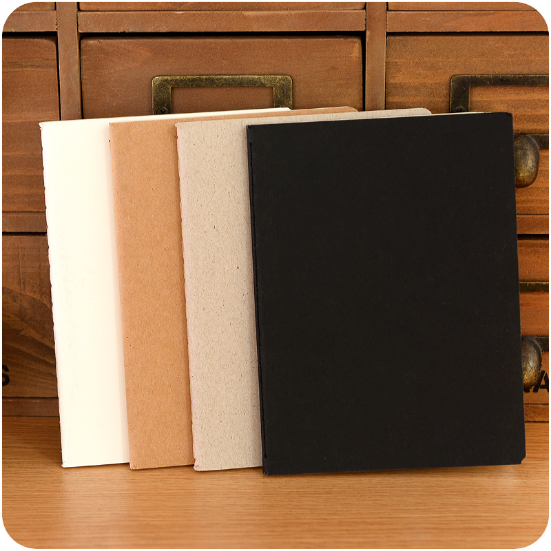 Student DIY A6 Cute Kraft Paper Notebook With Blank Paper Creative Sketching Book For Kids Paint Draw School Supplies 1021-in Notebooks from Office & School Supplies on Aliexpress.com | Alibaba Group
