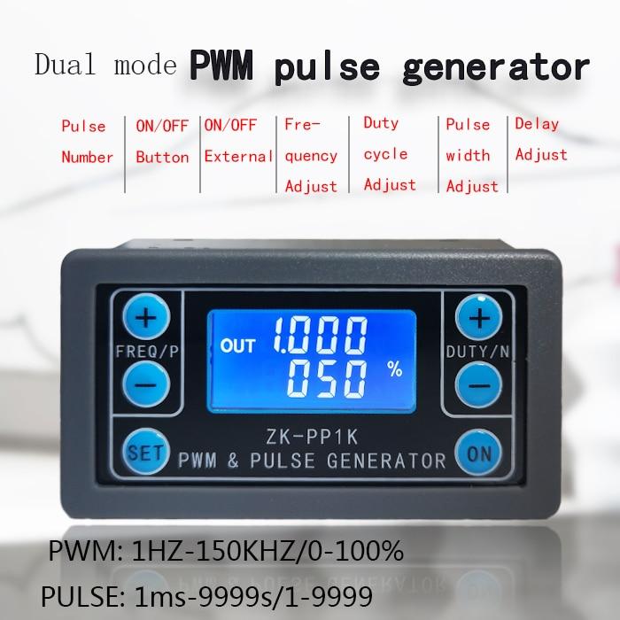 ZK-PP1K PWM частота импульса рабочий цикл регулируемый модуль прямоугольная волна генератор сигналов