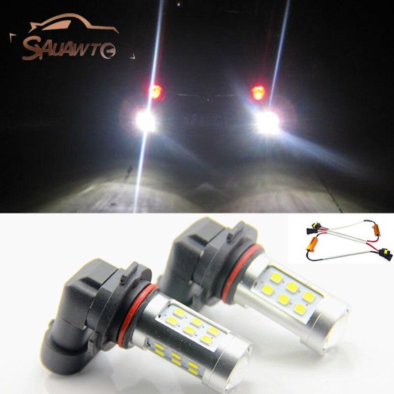2х 9006/НВ4 LED туман света лампы дневного света нет ошибка для BMW Е46 330ci E60 и E63 и e64
