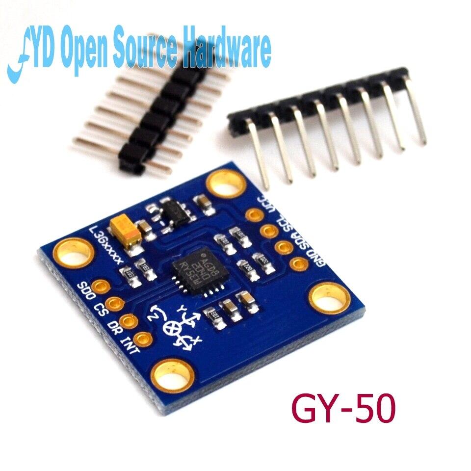 GY-50 L3G4200D 3 osi żyroskop cyfrowy moduł czujnika prędkości kątowej moduł