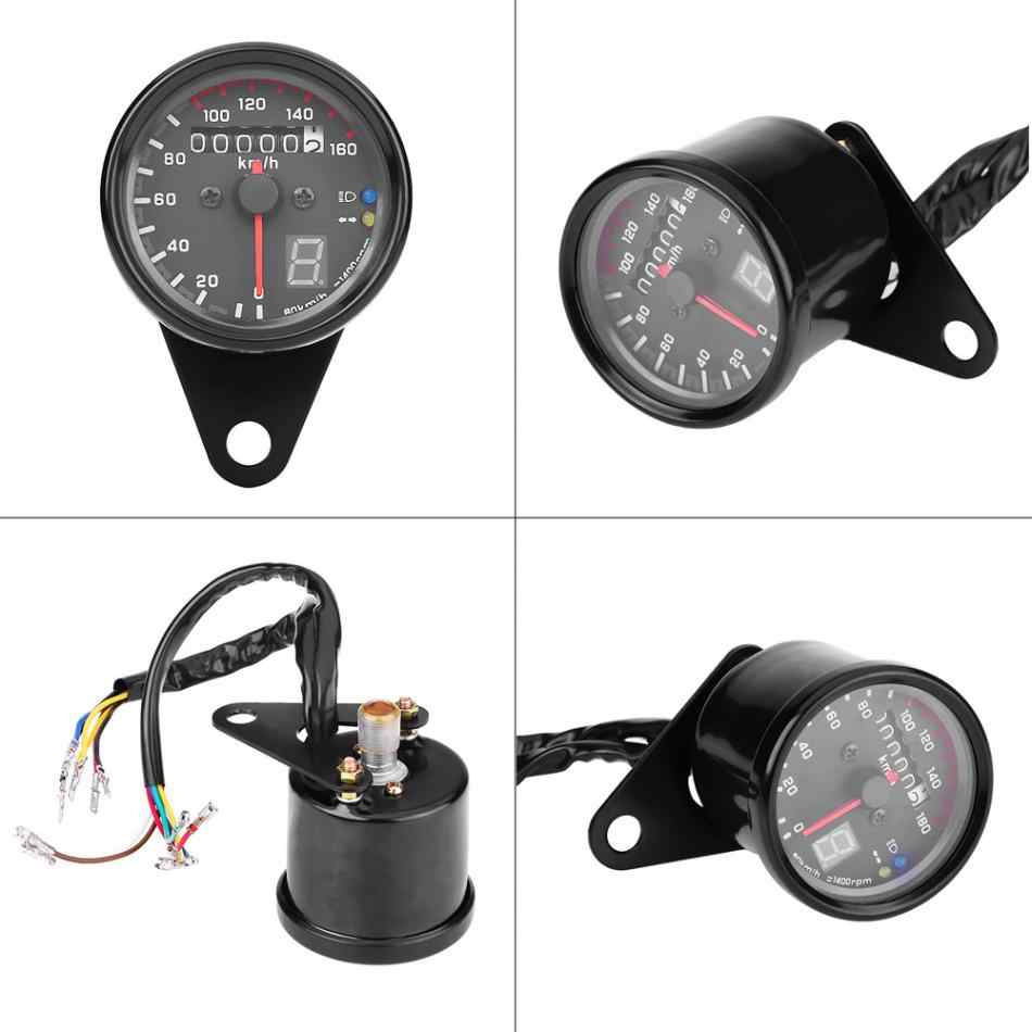 Detail Feedback Questions about 12V Motorcycle Retro Odometer